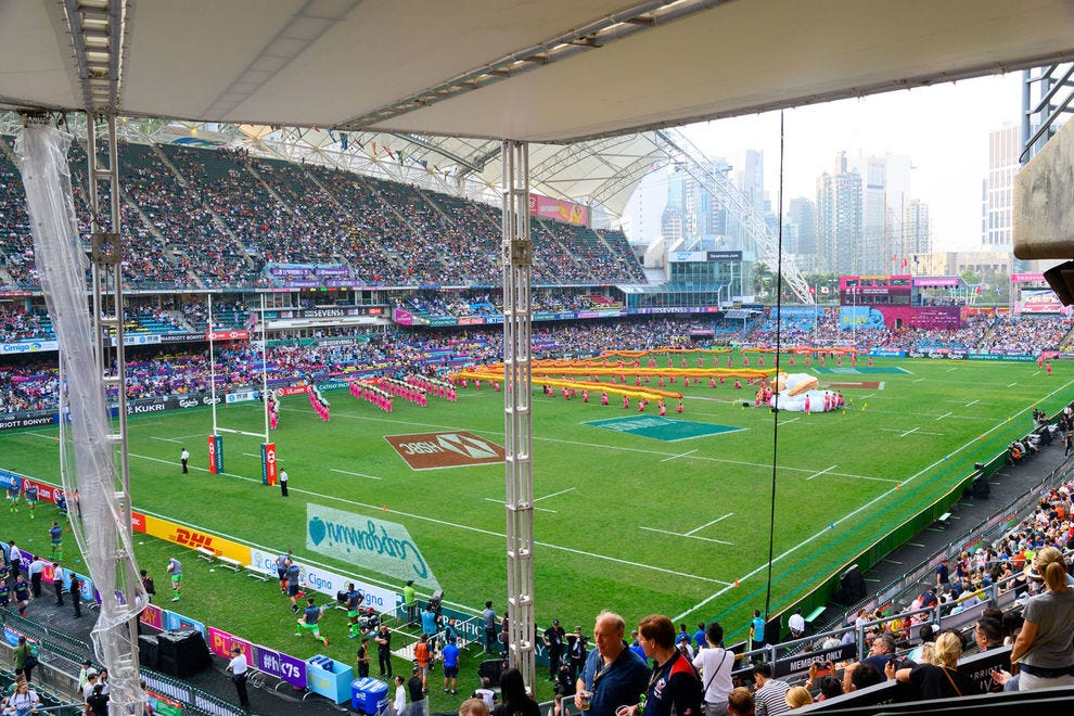 In early April, the Hong Kong Rugby Sevens weekend welcomed Marriott Bonvoy members to join in on the fun