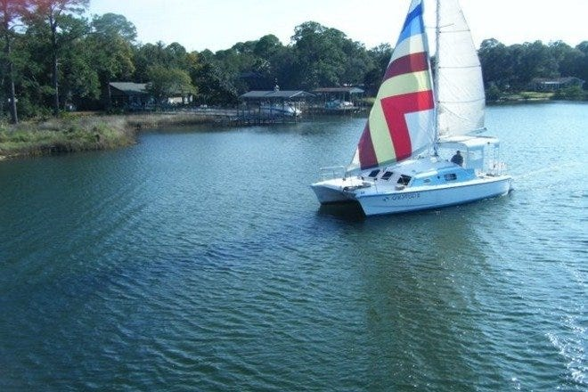 Calypso2 Sailing Catamaran Semi-Private Dolphin Watching and Sunset Cruises