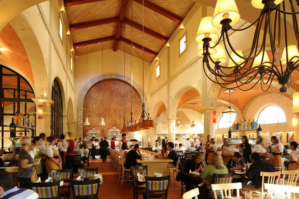 Find this winning restaurant in Epcot's Italy pavilion
