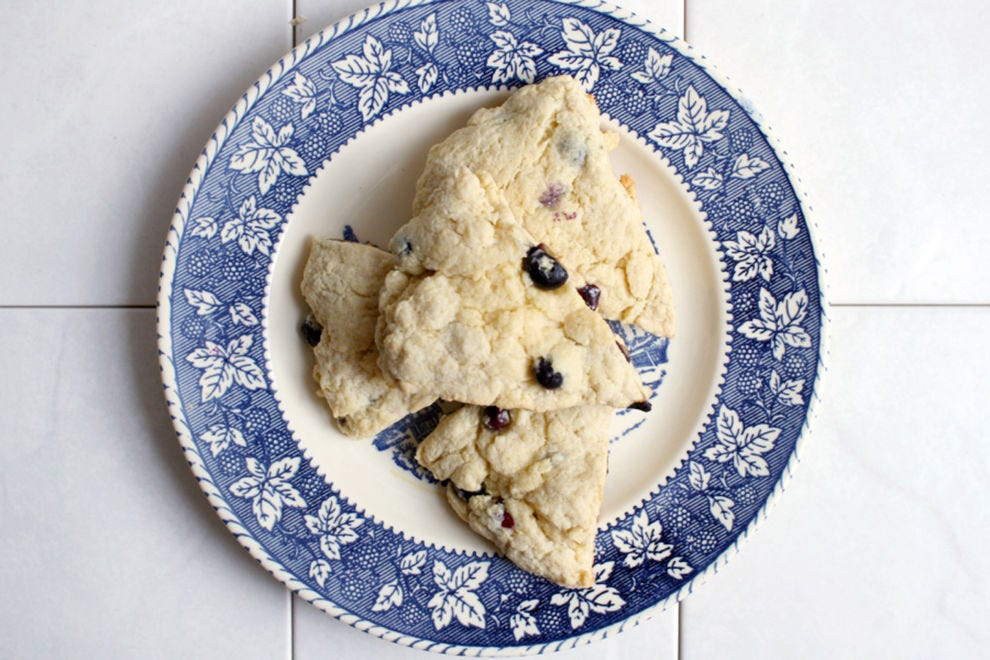 Savor blueberry season with these scones
