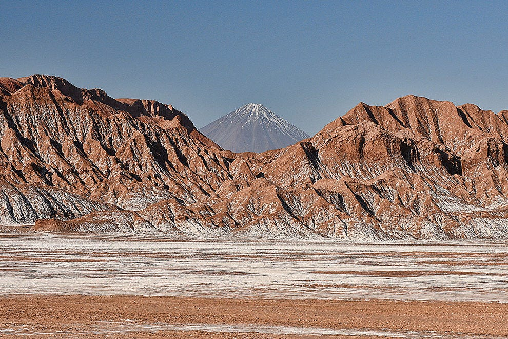Atacama's highest peak