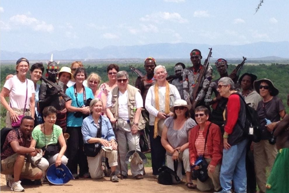 The Women's Travel Group in Ethiopia