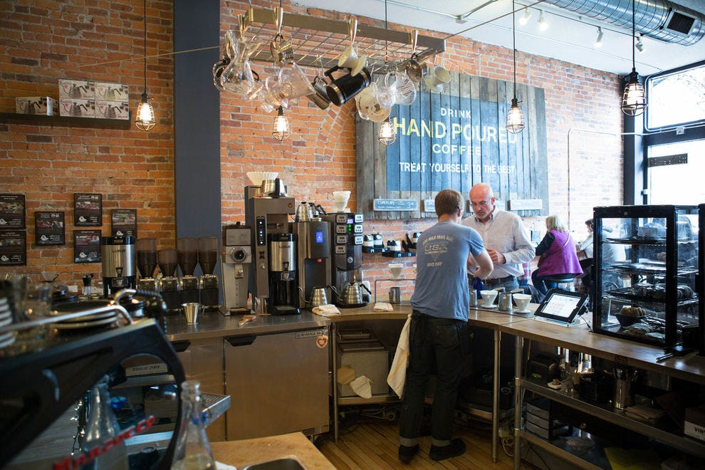 One Line Coffee's specialty includes slow drip iced coffee