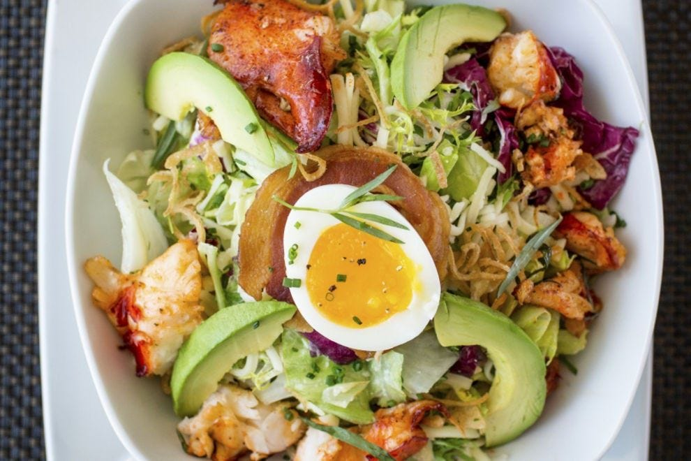 This salad is sure to fill you up!
