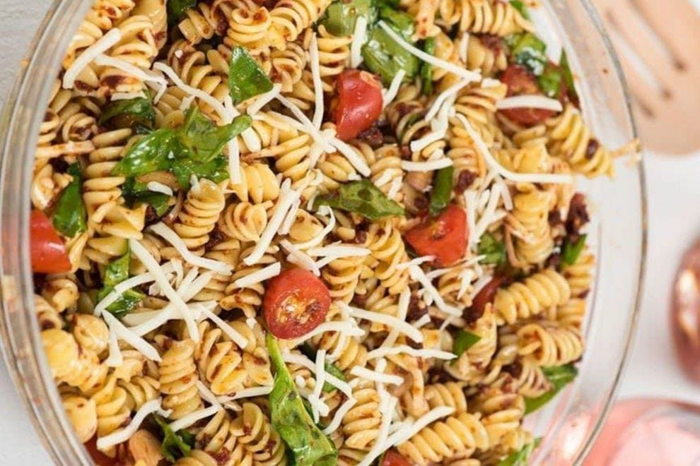 This pasta salad is so much more than a side