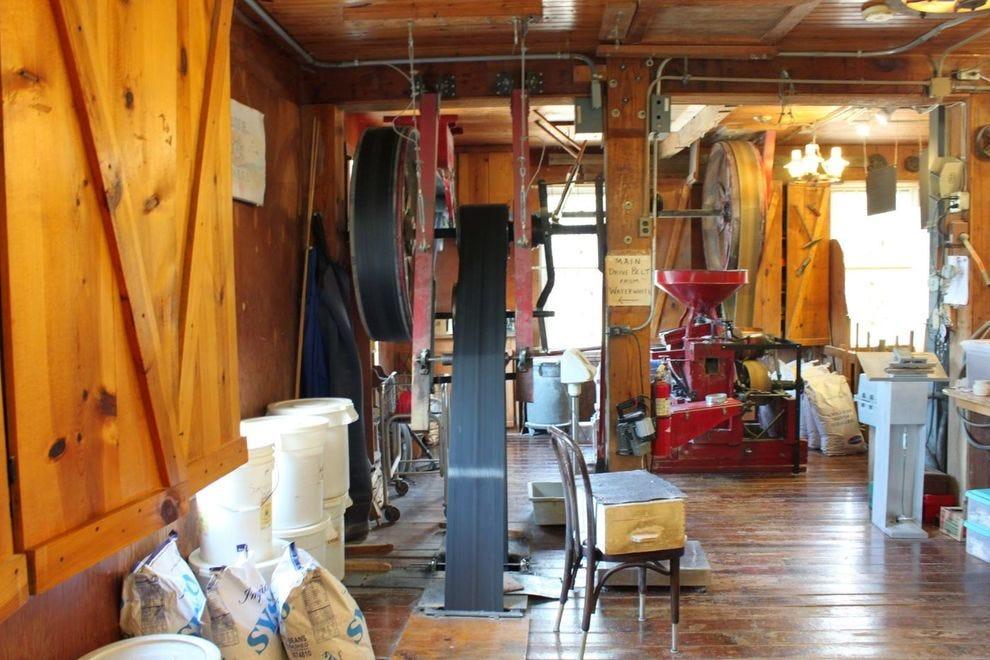 Inside War Eagle Mill