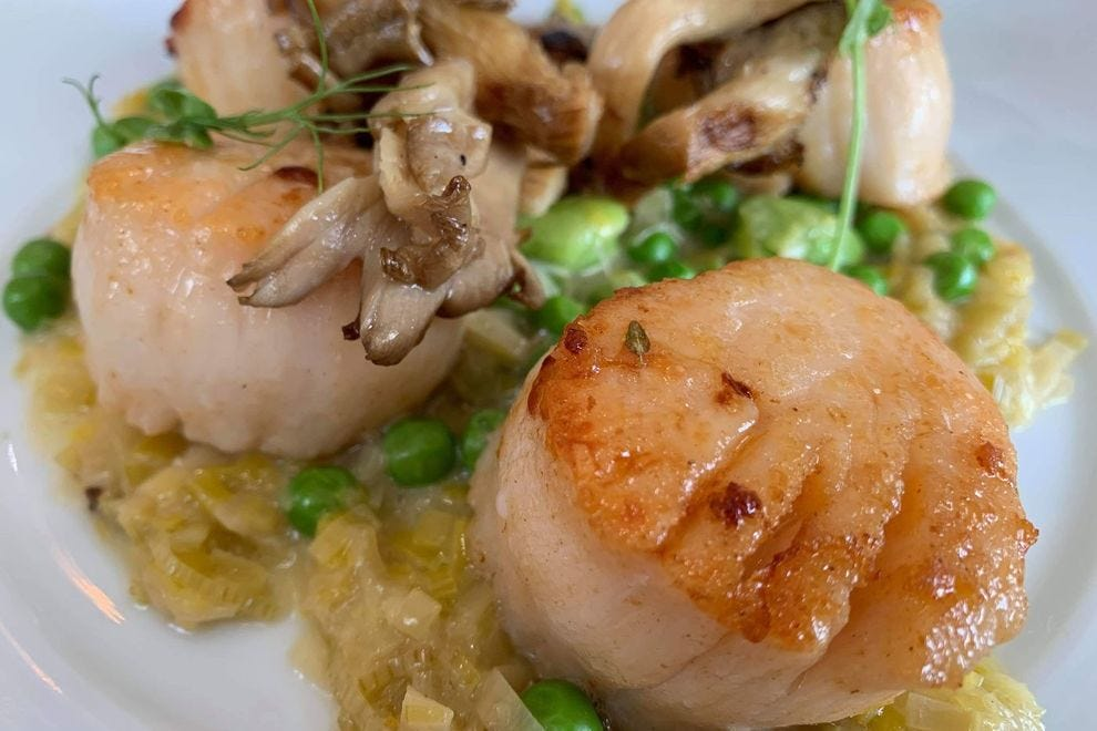 Scrumptious seafood at F&B