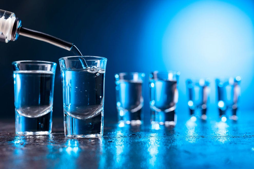 Vodka ranks among the world's most popular spirits