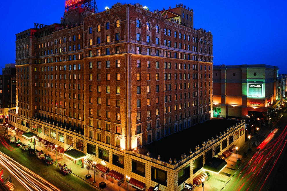 This is the second straight win for The Peabody Hotel