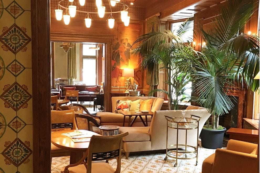 The gorgeous Ivy Hotel