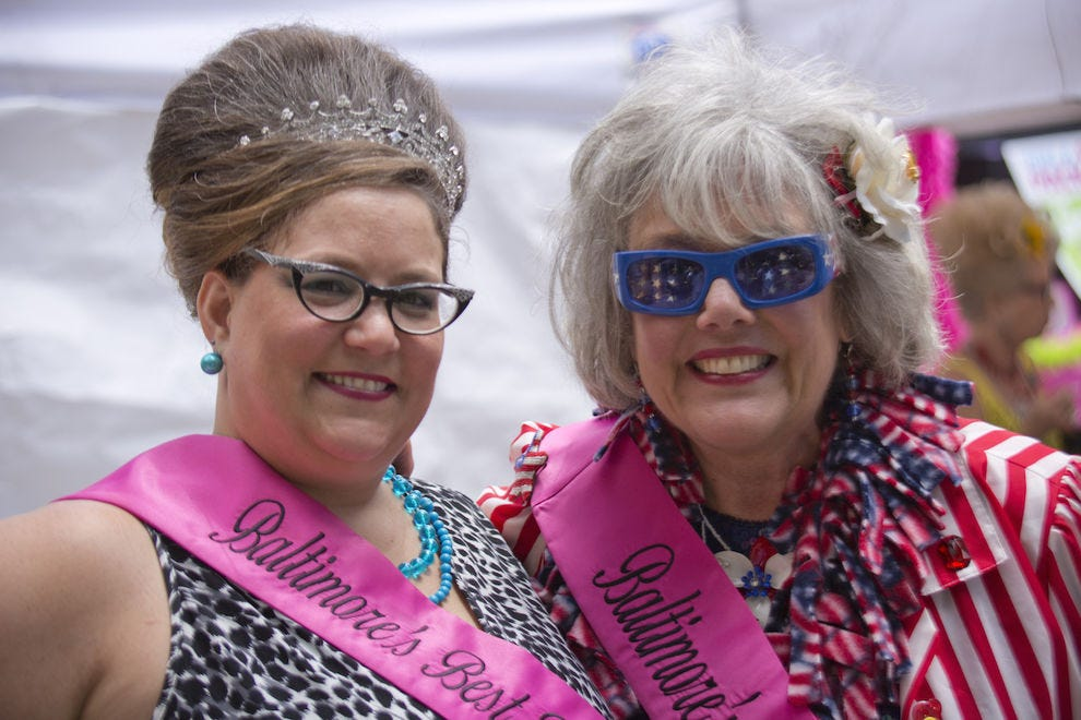 The annual HONfest in Hampden celebrates Baltimore's historic working women