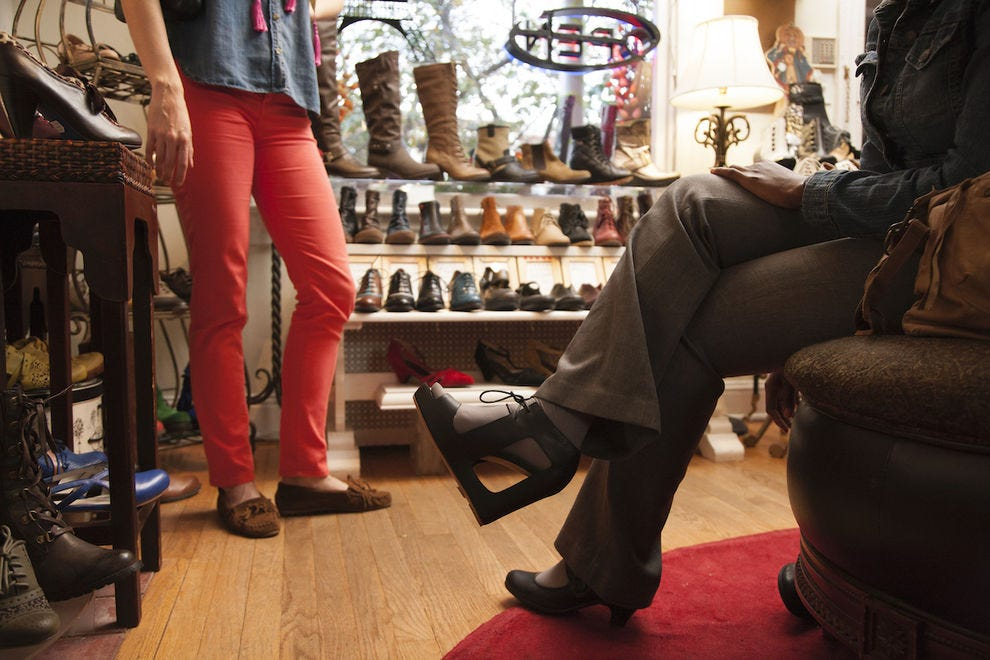 Ma Petite Shoe sells the best footwear and artisan chocolate