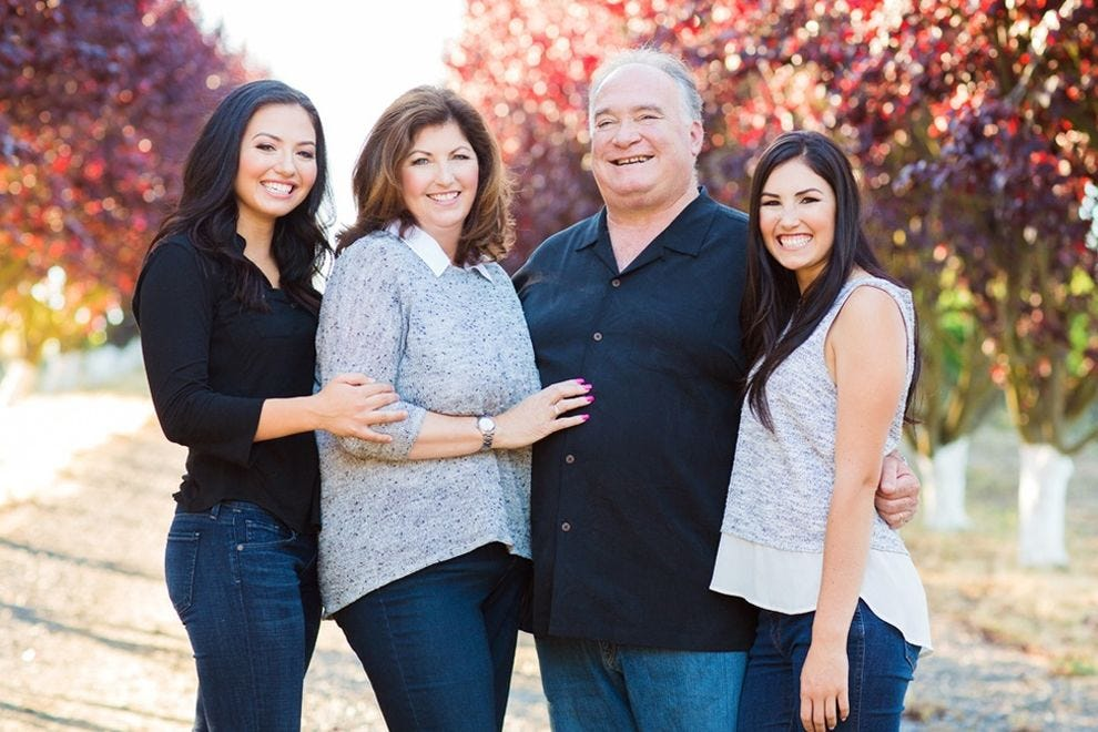 The Balletto Family – Caterina, Terri, John, Jacqueline – have been farming since the late '70s