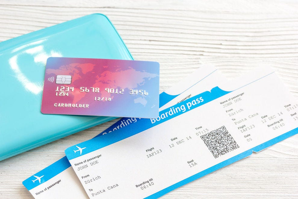 These cards offer perks like free checked bags, priority boarding and the chance to earn free flights