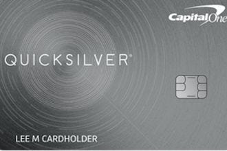 Quicksilver from Capital One