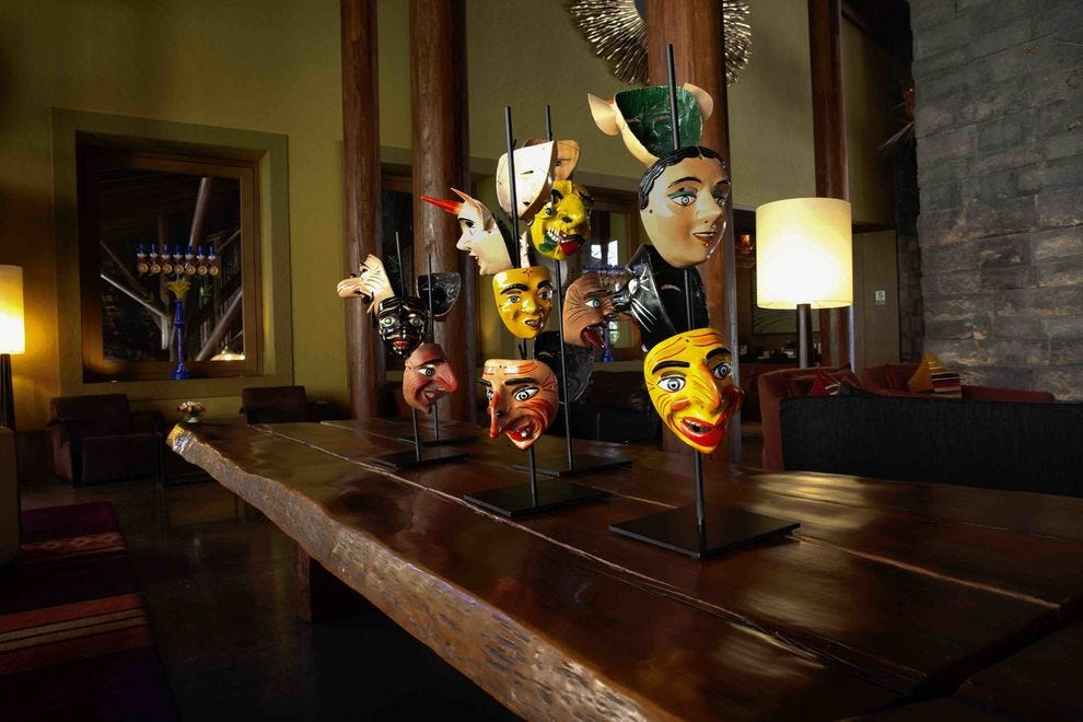 The Paucartambo masks used in Andean veneration dances