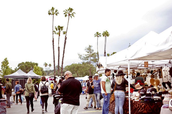 Rose Bowl Stadium and Rose Bowl Flea Market