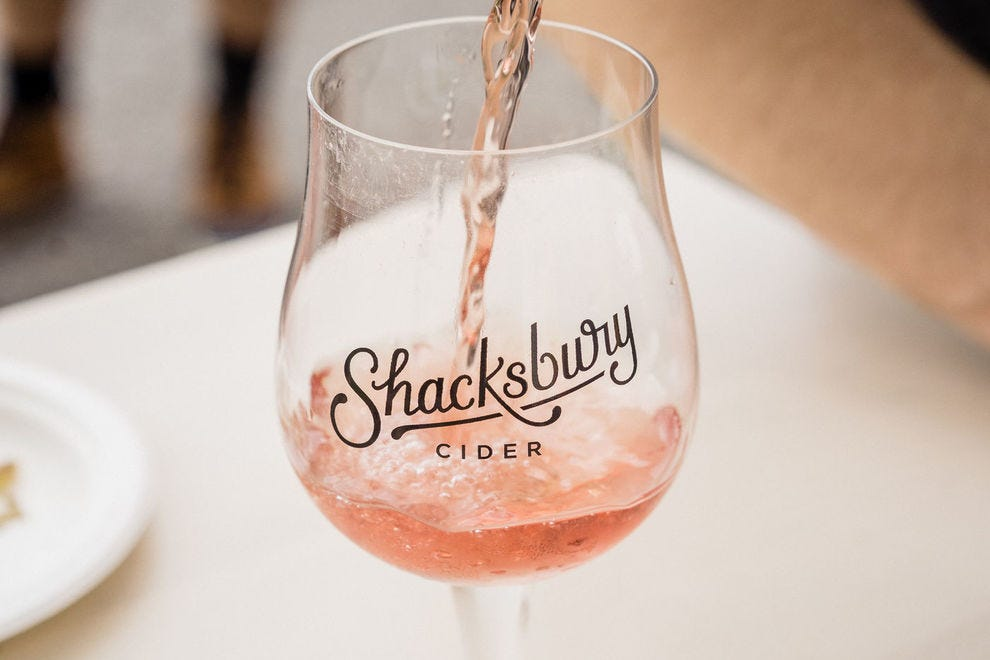 Get a taste of local flavor at Shacksbury Cider's tasting room