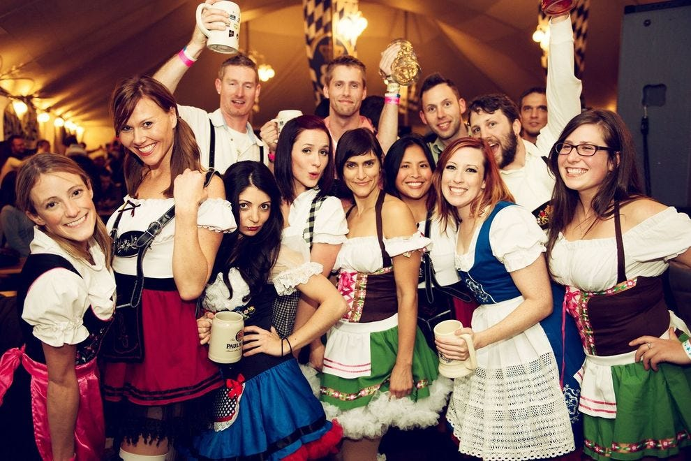 Leavenworth's Oktoberfest lasts three weekends and occupies four venues!