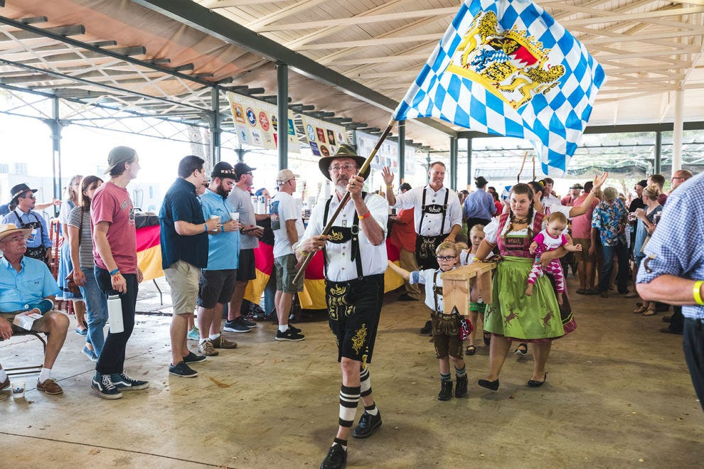 There's plenty of fun to be had for the whole family at Fredericksburg's Oktoberfest!
