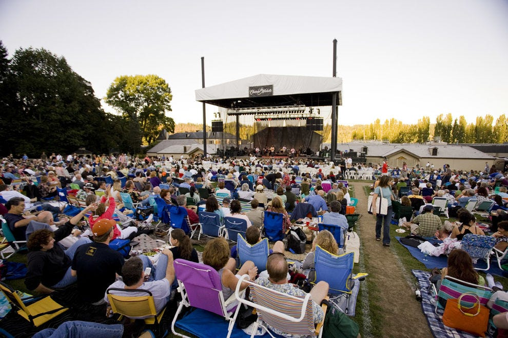 The Summer Concert Series in the outdoor amphitheater at Chateau Ste. Michelle celebrates 35 years.