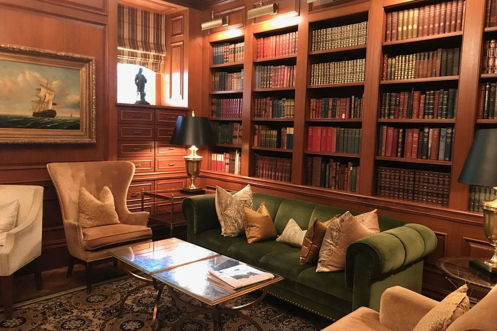 The Book Room at The Jefferson Hotel