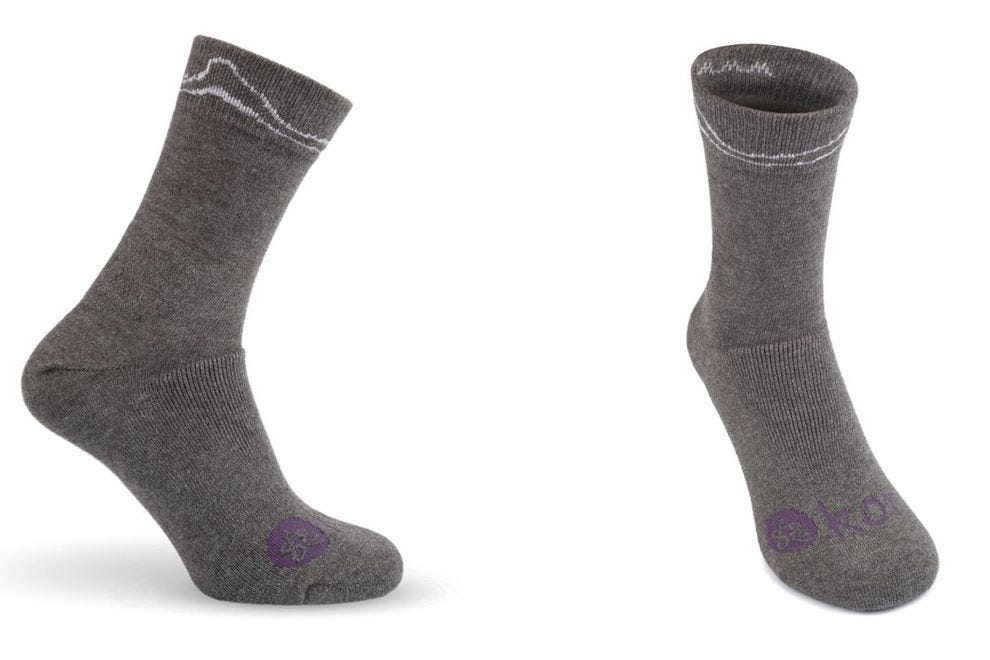 Kora's products (like socks, hats and base layers, too) all feature yak wool