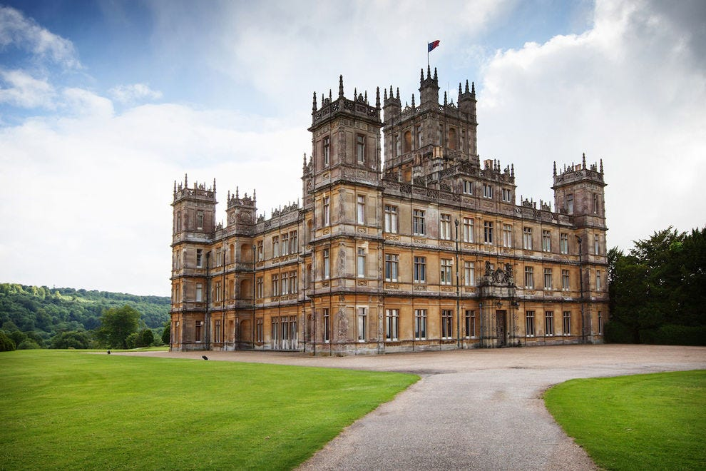 How To Visit Highclere Castle The Real Star Of Downton Abbey