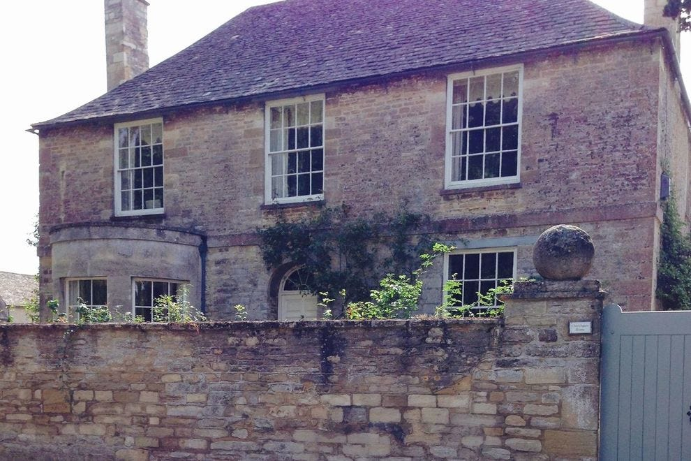 """Downton Abbey"" fans will recognize many of the buildings in the village of Bampton"