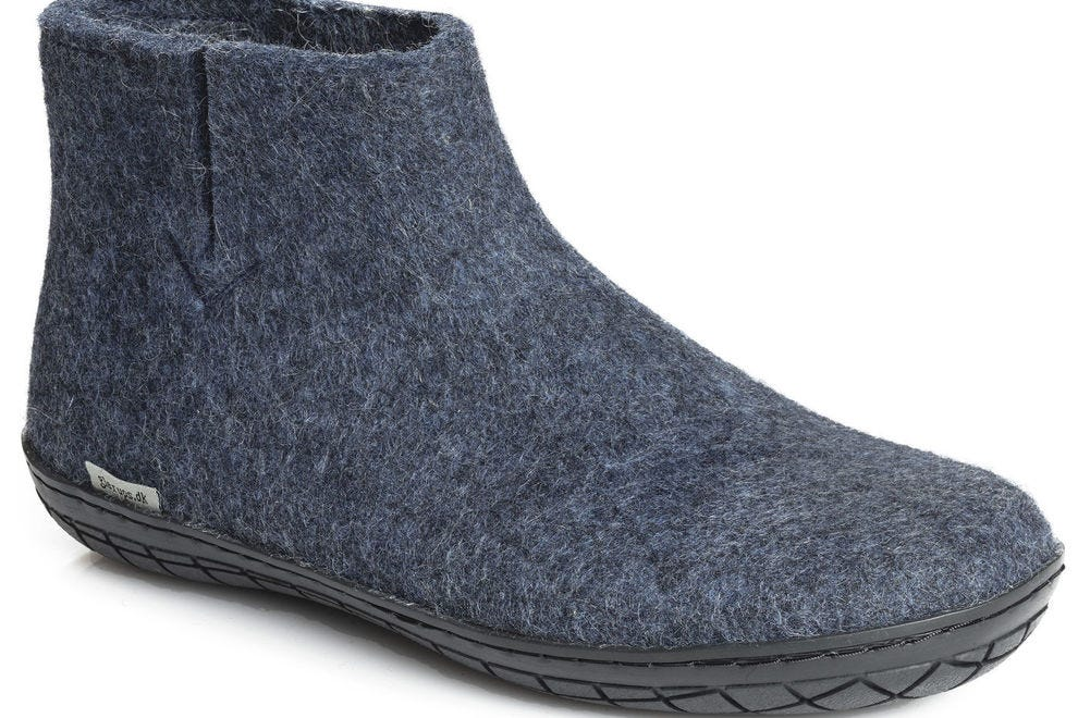 Felt slippers and boots by glerups keep your feet warm and happy after a long day on the slopes