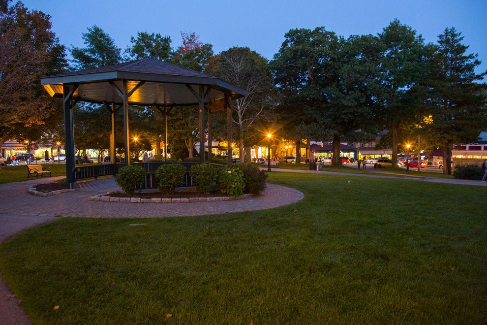 Village Green | Bar Harbor, Maine