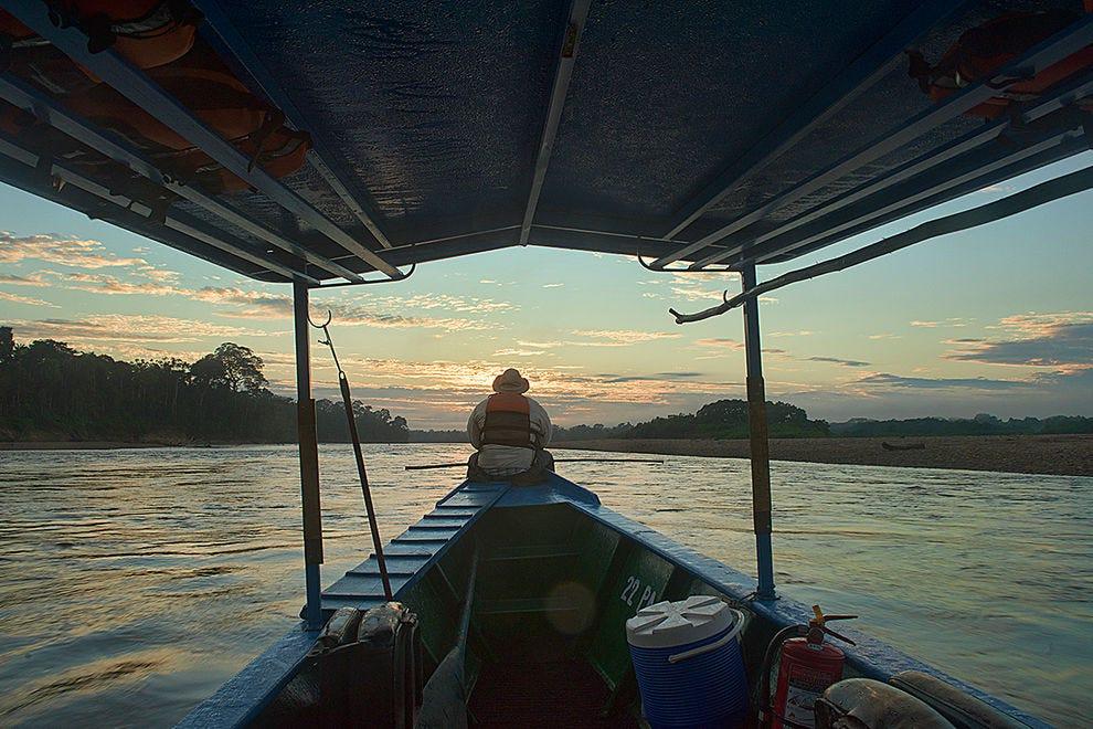 Serenity along the Tambopata River