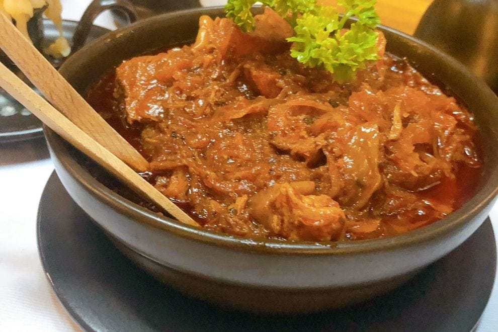 Bigos, or hunter's stew