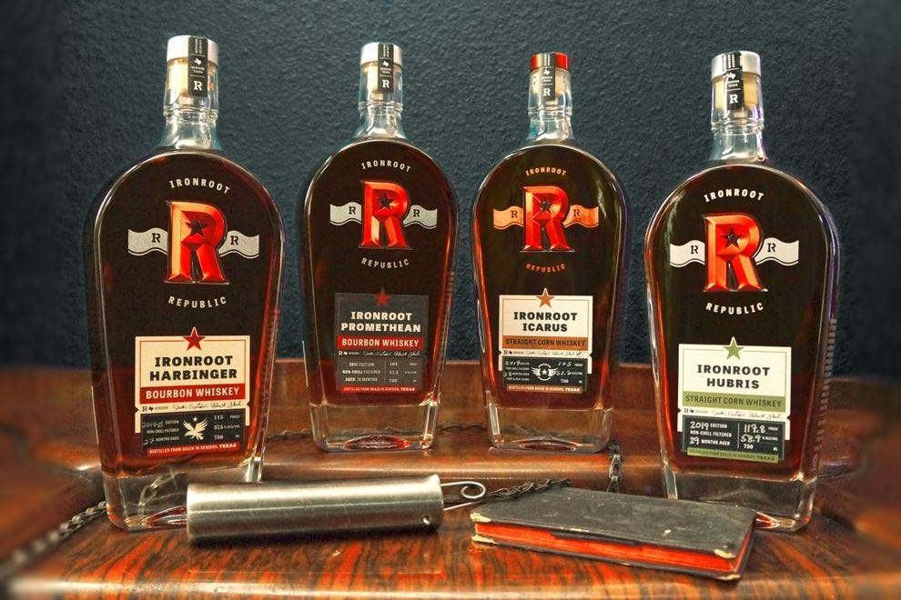 Winning Texas distillery makes three grain-to-glass whiskies