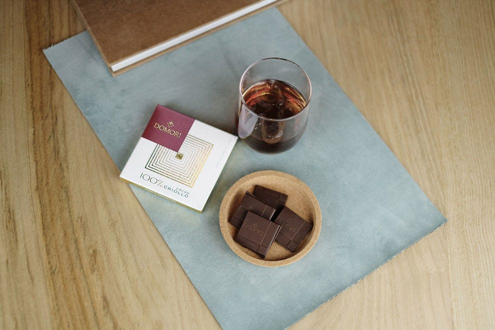 The Criollo chocolate bar