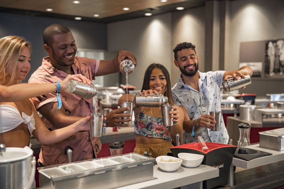In Puerto Rico, Mixology classes are offered at Casa Bacardi