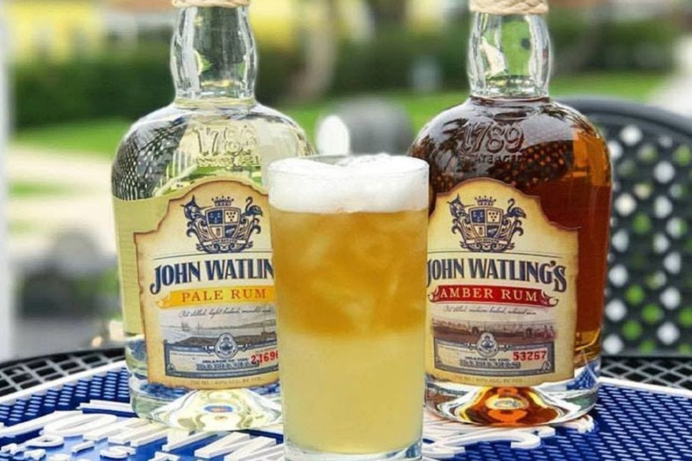 Named for a 17th century Bahamian swashbuckler ,John Watling's Distillery in Nassau produces his  namesake rum  .