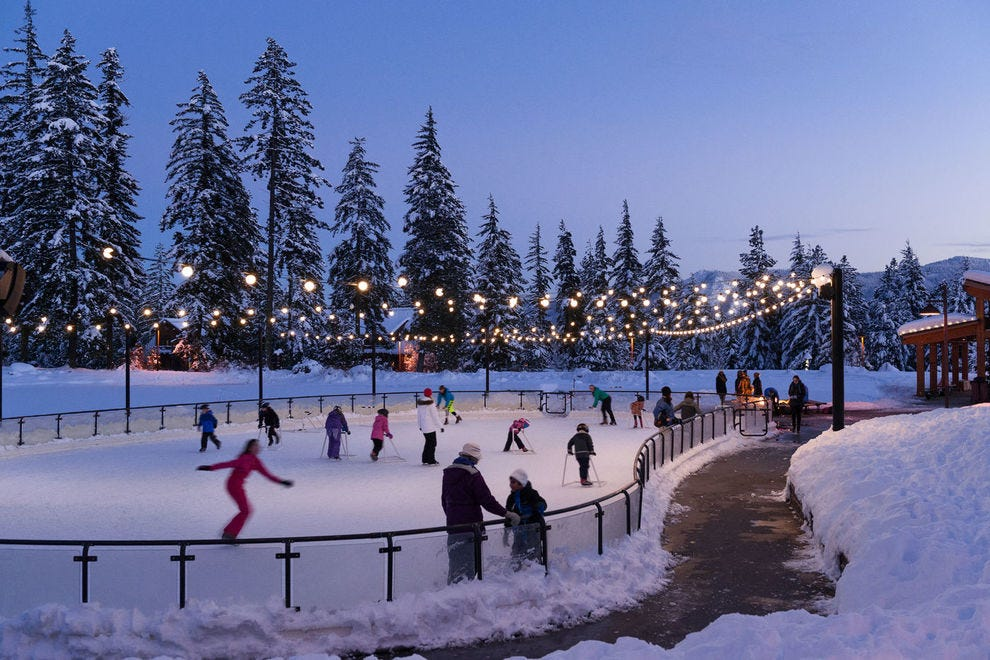 Suncadia Resort offers countless opportunities to get out in beautiful nature and frolic in the snow