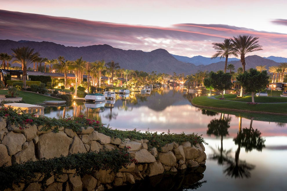This Palm Springs RV park offers amenities of a 5-star resort