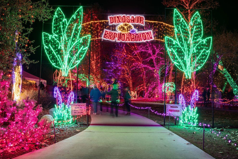 Holiday Lights at California Living Museum