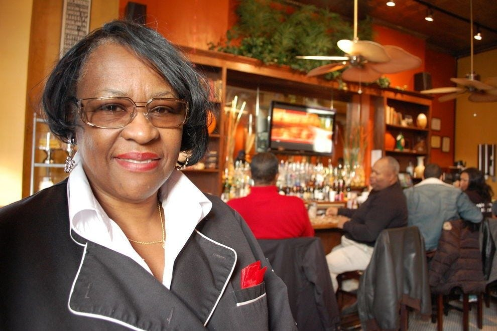 Mama J's owner, Velma Johnson