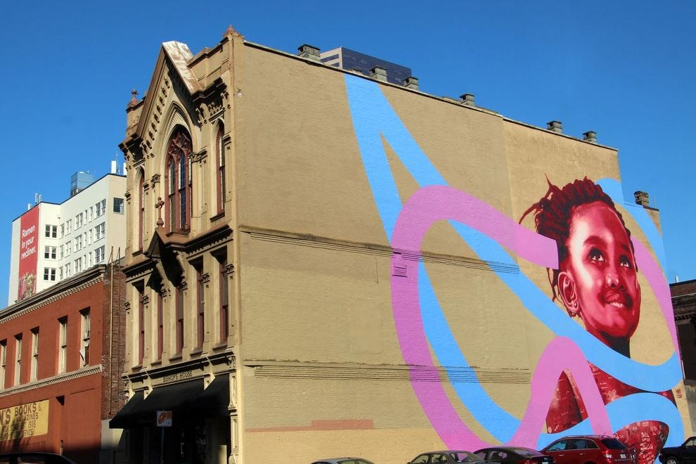 Creative murals are everywhere in Portland