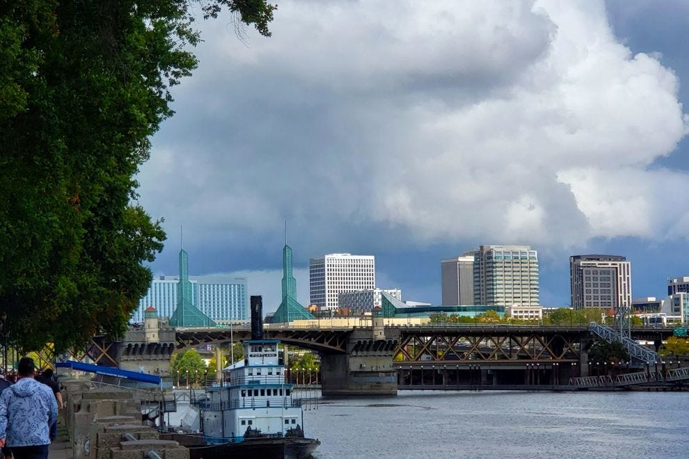 More gorgeous views await from Tom McCall Waterfront Park