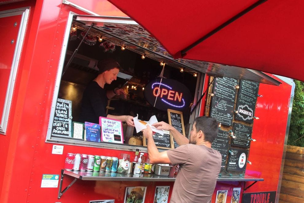 There's something for everyone among Portland's food trucks