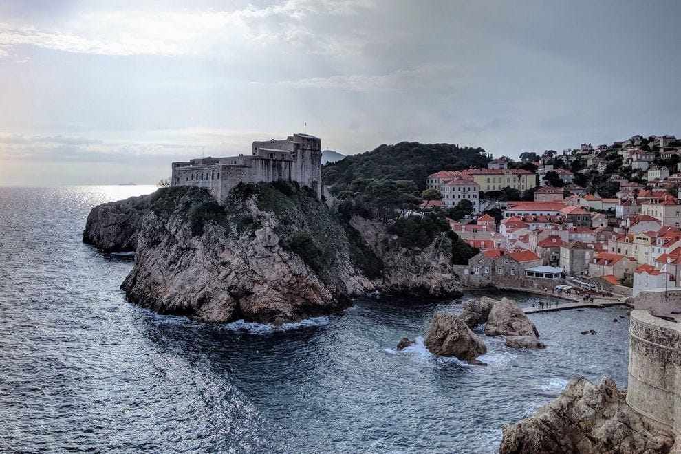 View from Dubrovnik's walls