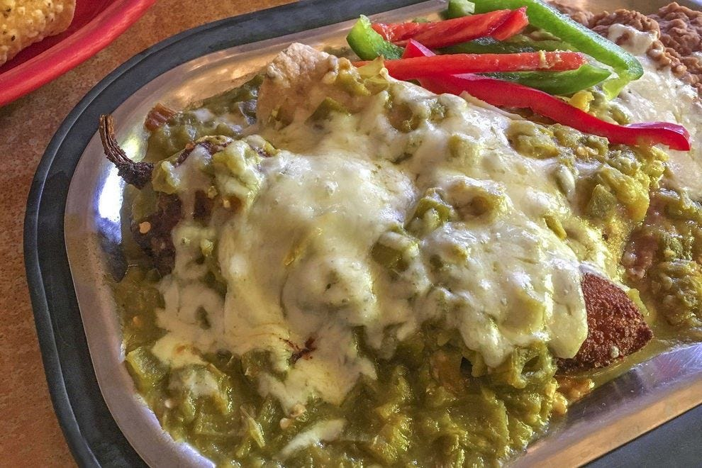 In Albuquerque, you'll find that chile can go with just about everything