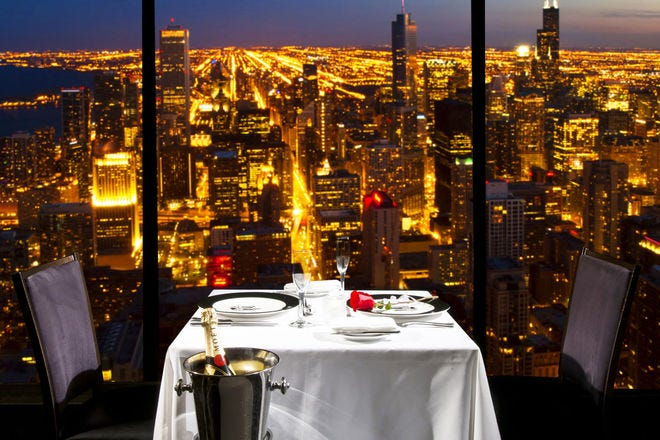 10 Best Romantic Restaurants In Chicago Il Usa Today 10best