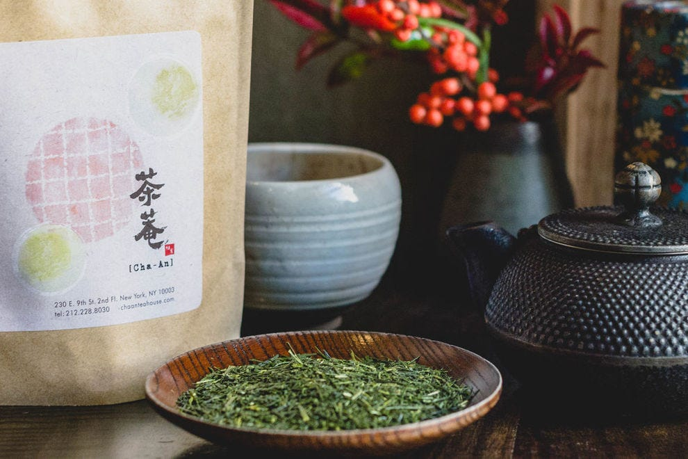 It's all about the tea at Cha-An from unique varieties to tea-infused desserts