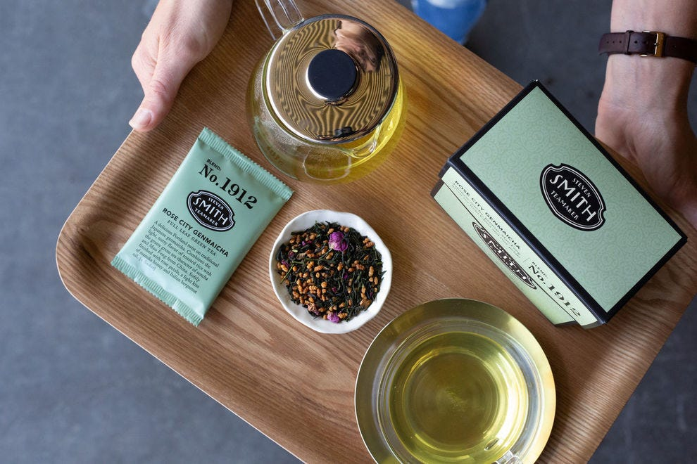 Sample a flight of teas at Smith