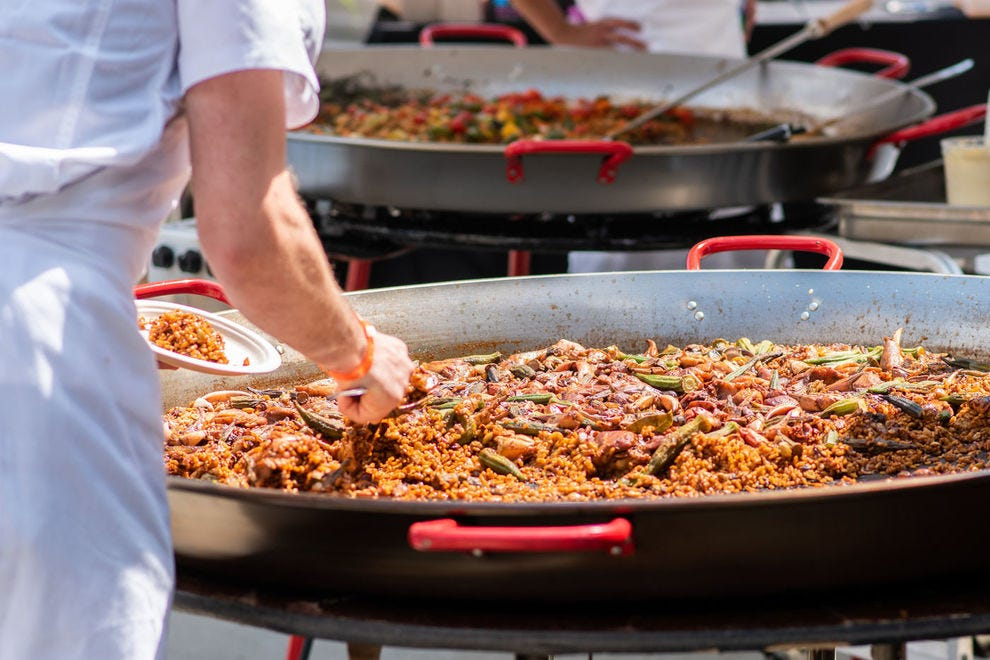 The Grand Tasting features a Makers Market, a food truck rodeo, chef demos, hands-on workshops and Appalachian-style paella for all at Asheville's Chow Chow
